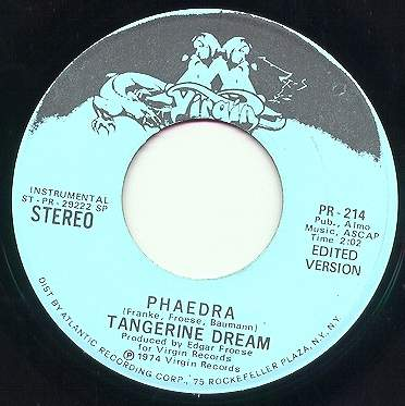 Tangerine Dream Fanpage by Rainer Rutka - Rare Singles